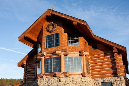 Custom built log cabin-Mount Shasta - 獨棟