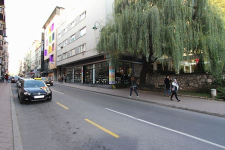 Stay in the center of Sarajevo!