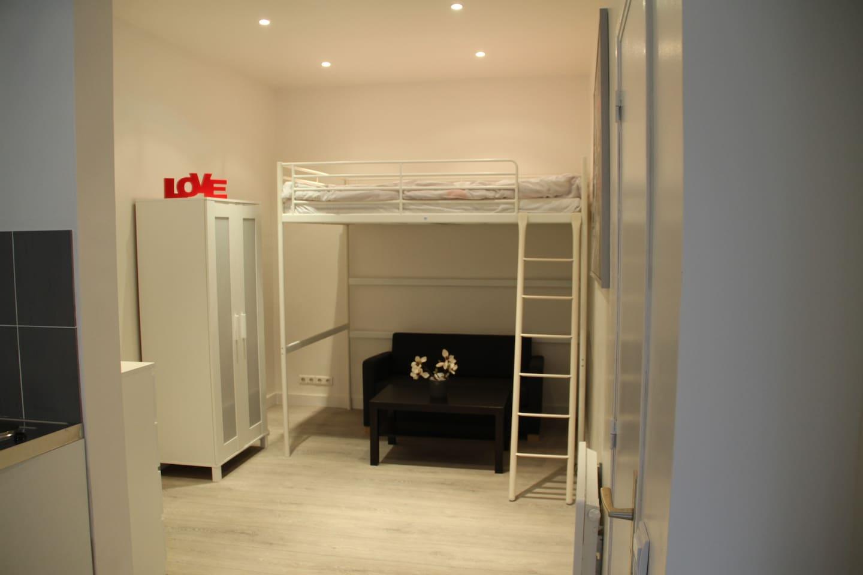 STUDIO 4 BEDS CENTER PARIS