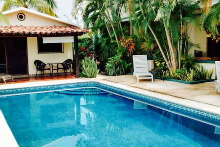 Beautiful Pool Bungalow Caracoles - Appartement
