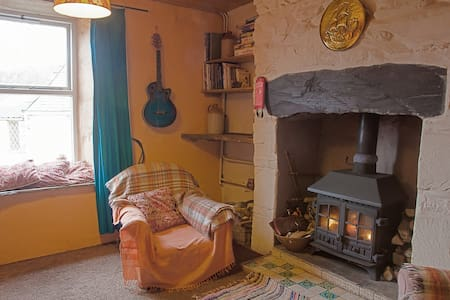 Artists cottage. Snug in Snowdonia - Penrhyndeudraeth - Casa