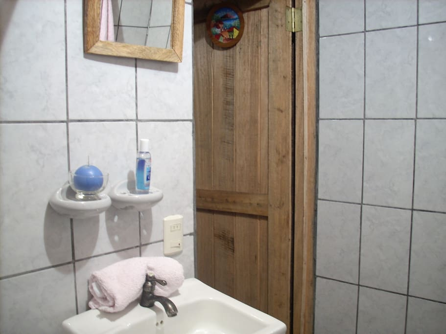 Bathroom in the Posada