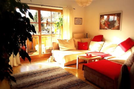 Cozy room on the countryside near Munich - Feldkirchen-Westerham - Apartamento