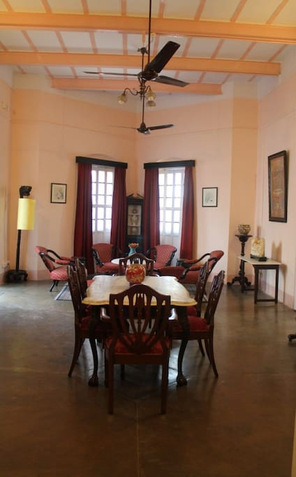 Sitting and Dining Room