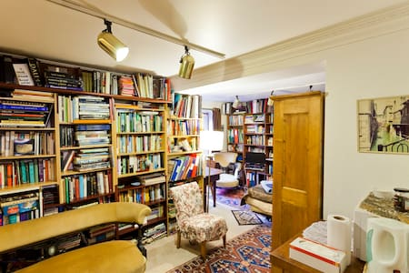 Library - bedroom and shower room - Londra - Bed & Breakfast