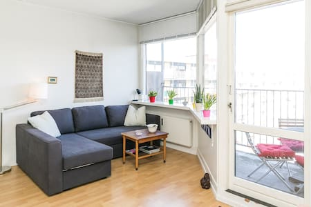 Studio with balcony, parking, bikes