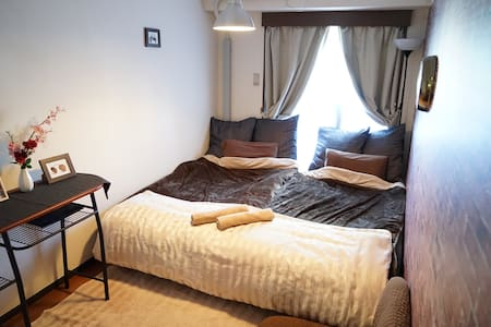 6 SHINJUKU 4mins Twin & Sofa bed Pkt wifi Max 3ppl - Apartment