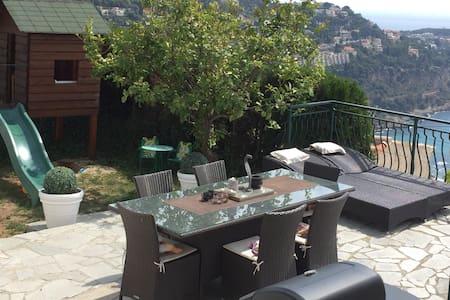 Splendid house with fantastic view near Monaco !! - Roquebrune-Cap-Martin