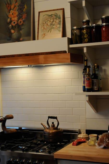 Our Bertazzoni gas stove is AMAZING!