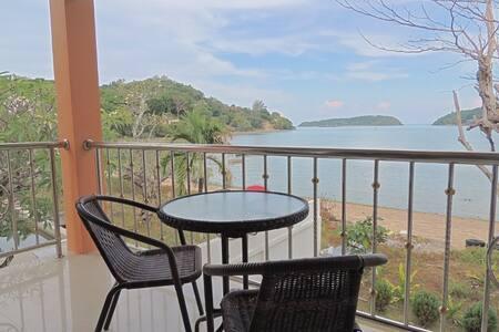 Corner Apart Scenic Beach Balcony - Appartement