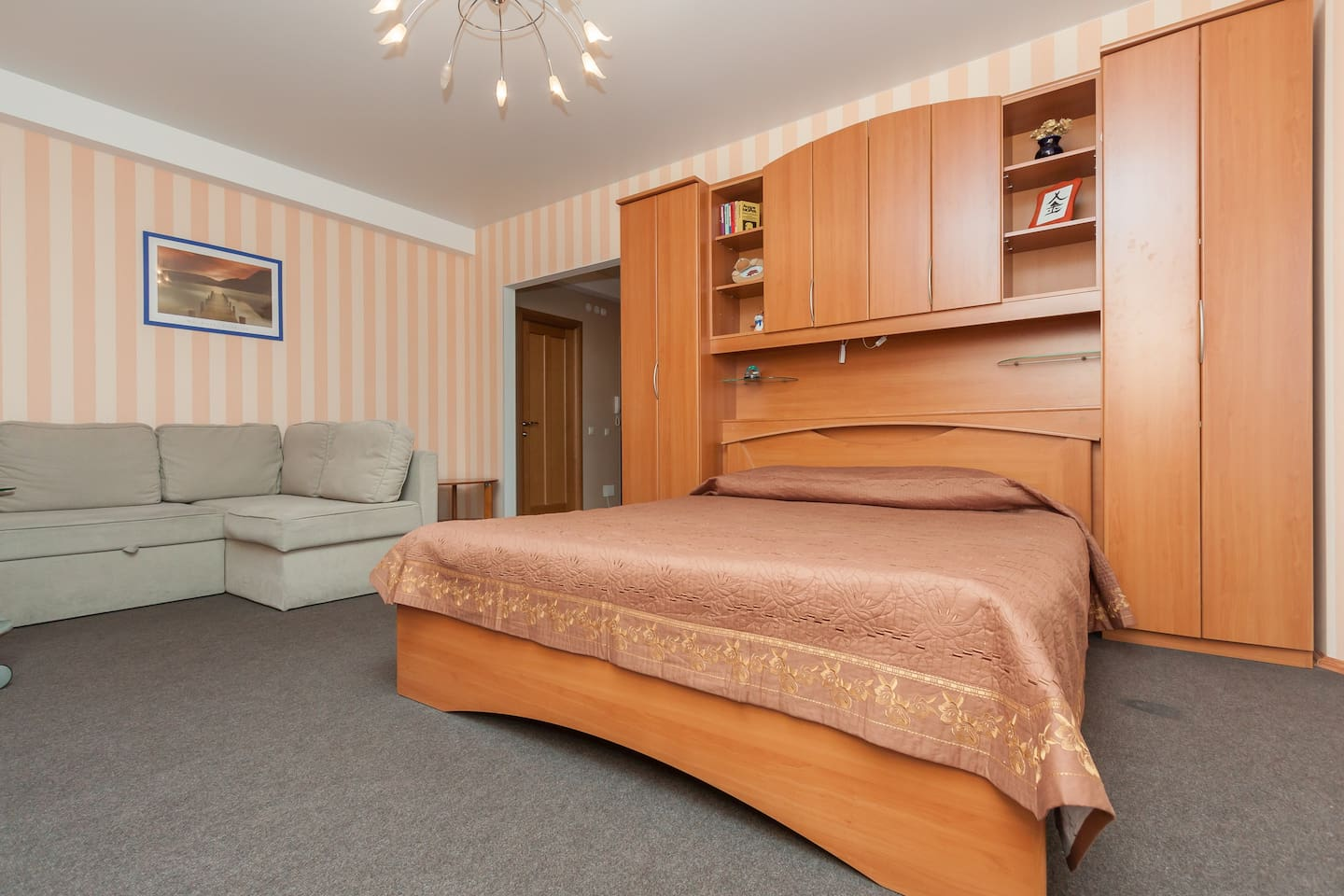 1 room apartment, business class