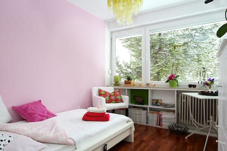 quiet, comfortable room for ladies - Şehir evi