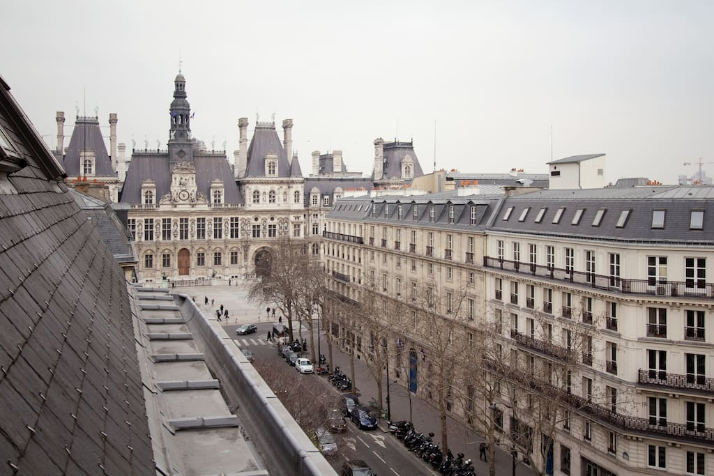 View from the living room - Hotel de Ville
