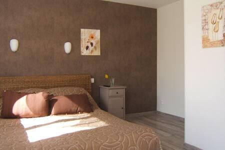 Le clos alberrtine nature room - Villeneuve-Tolosane - Bed & Breakfast