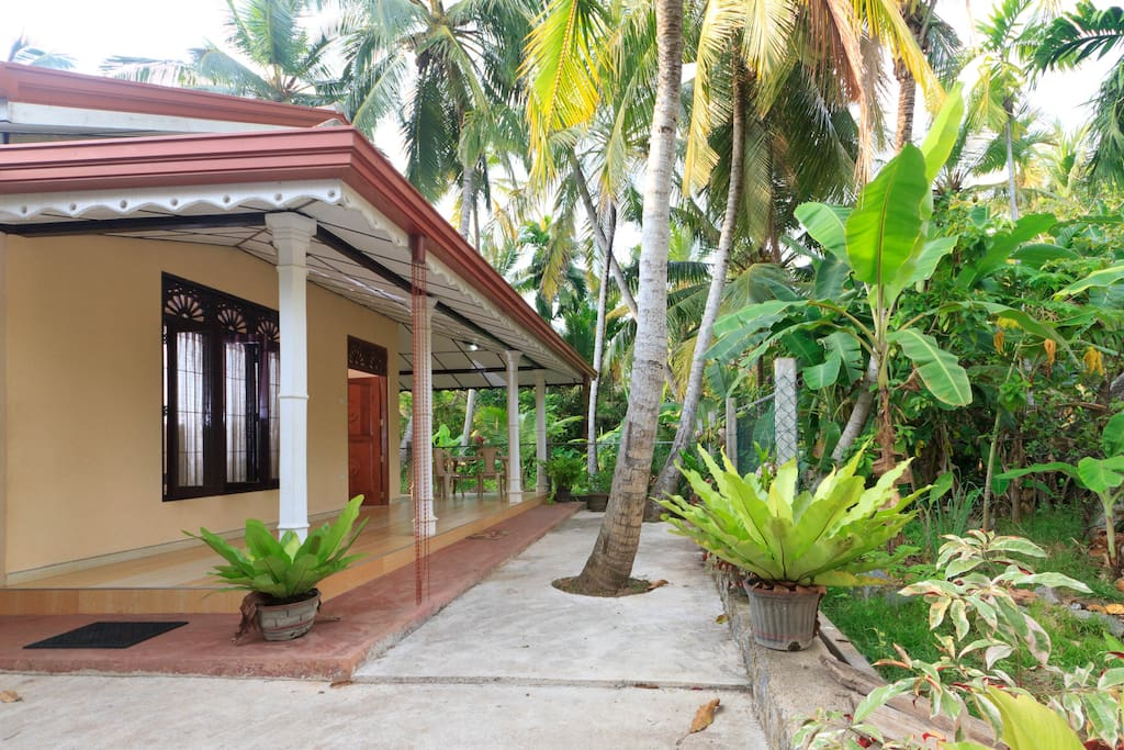 side view of home stay