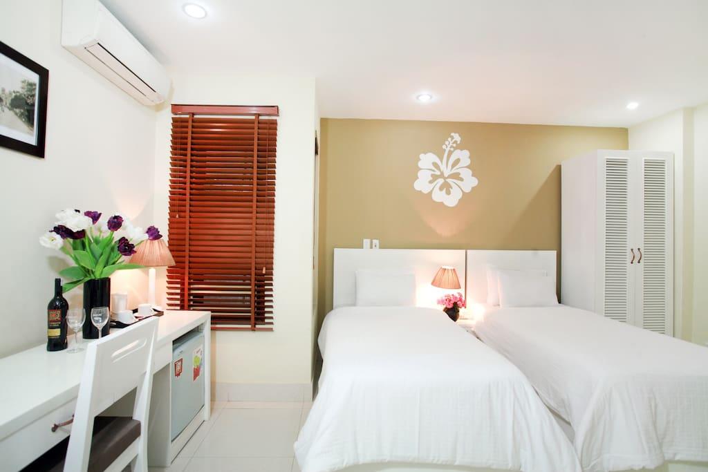 Hanoi Hibiscus Hotel: Superior Twin