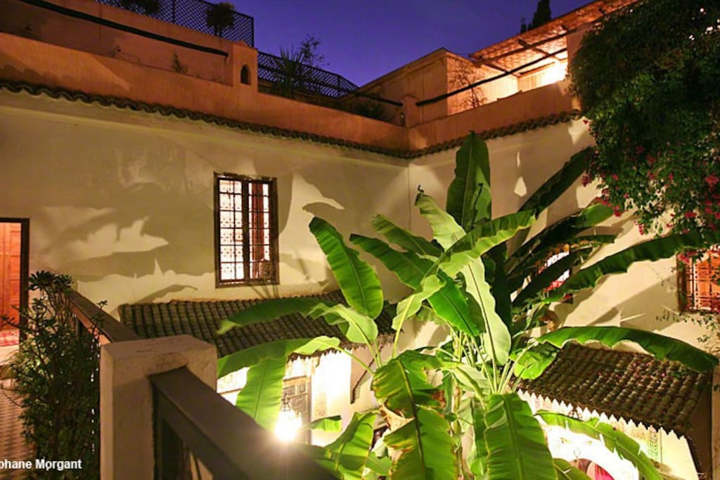 Riad dar Mouassine/suite Cannelle
