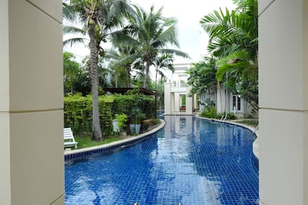 Spacious ground floor apt Hua Hin - Daire