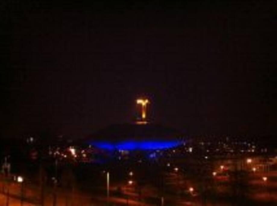 Great view @ Evoluon /night