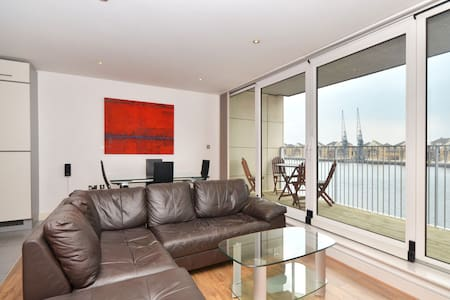 Luxury River View, Large Balcony - London - Apartment