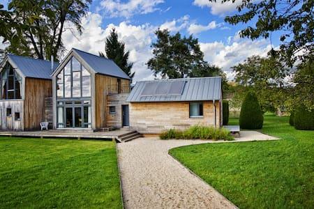 Maison écologique en Bourgogne - Puligny-Montrachet - Jordhytte