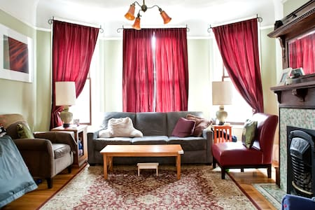 Entire 3br Beautiful Edwardian Home - San Francisco - House