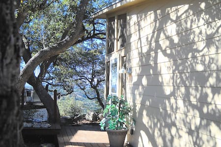 Rm2-Hill Country B&B w/screen porch - Pipe Creek - Bed & Breakfast