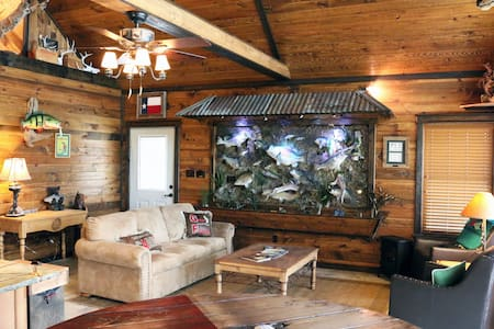 A Bass fishermans Dream Cabin! - Cabin
