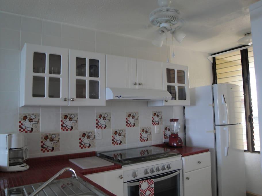 Kitchen Apartment 404
