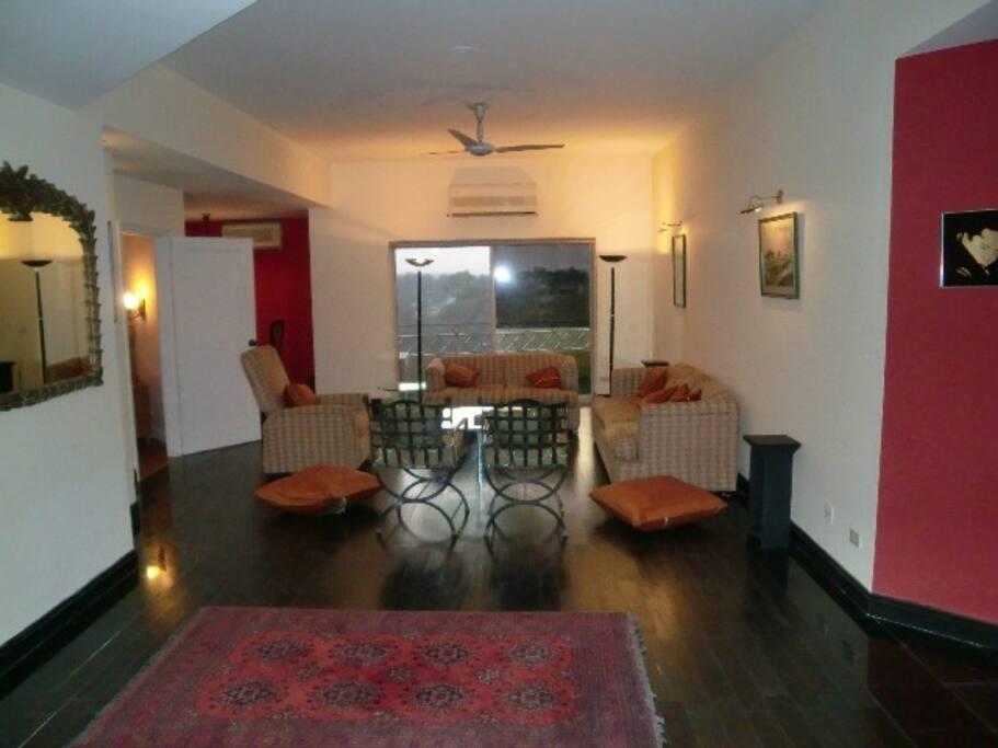 Drwaing Room, Wooden Flooring