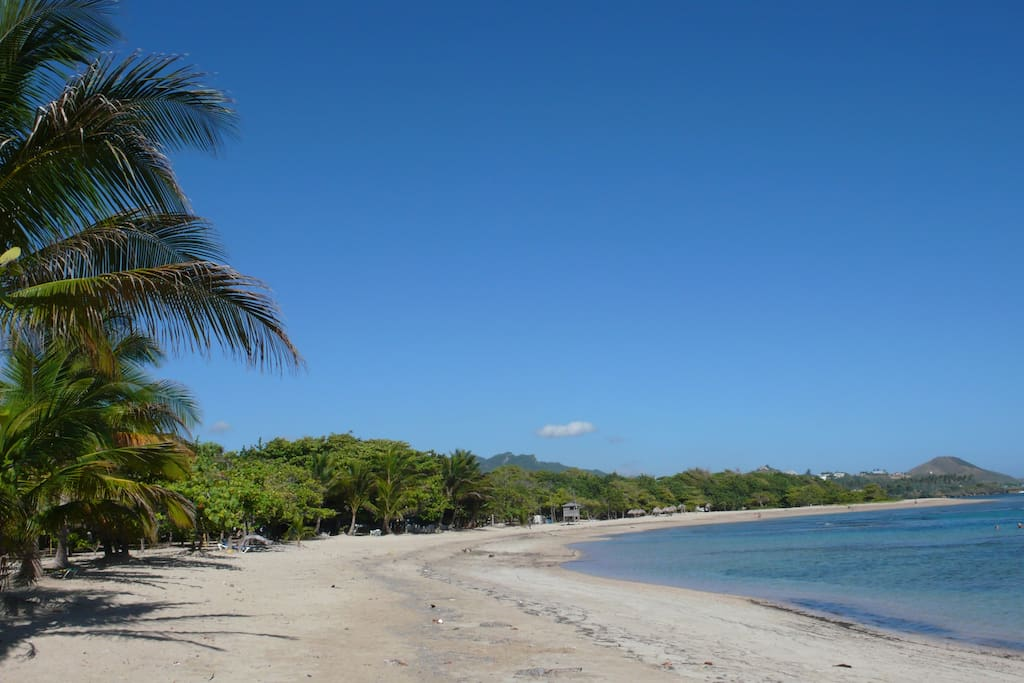 Costambar beach 100 yards from the property