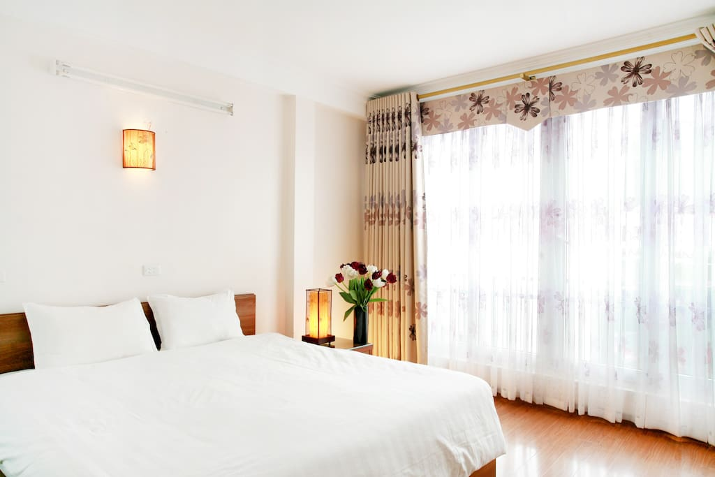 Superior double room with full of light.