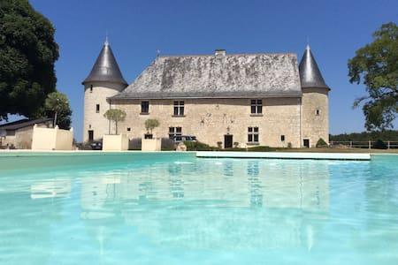 Gite de charme Chateaux Le bois du Chillou - Marçay - Villa