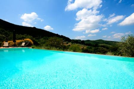Charming wine lover villa with pool - Paciano