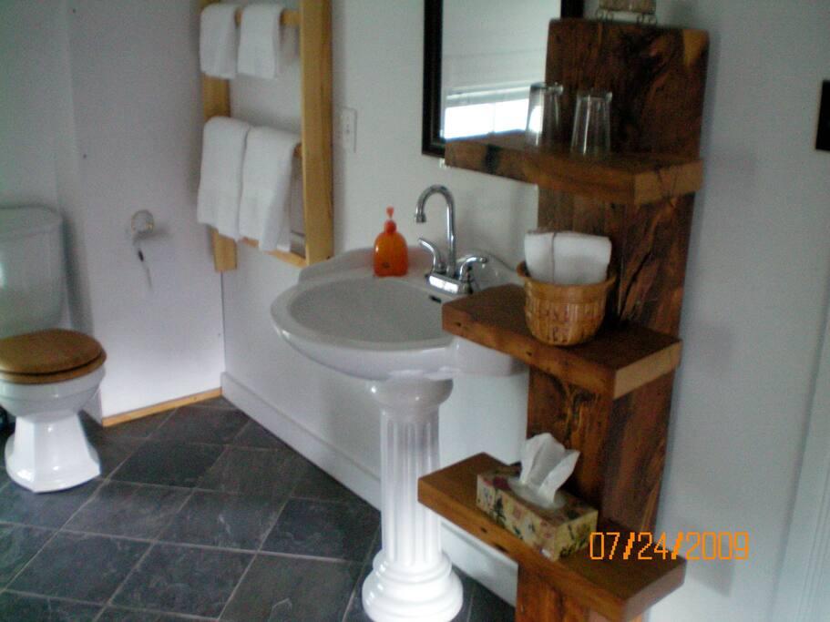 Mähren House. Room 2,  'en suite'
