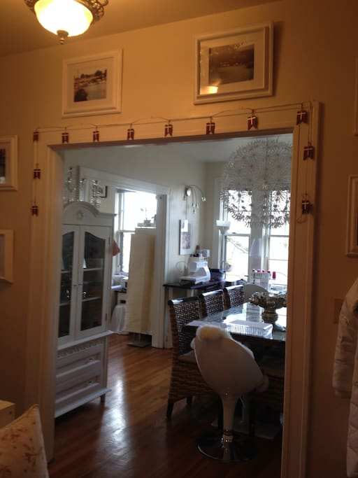 Entrance to dinning room