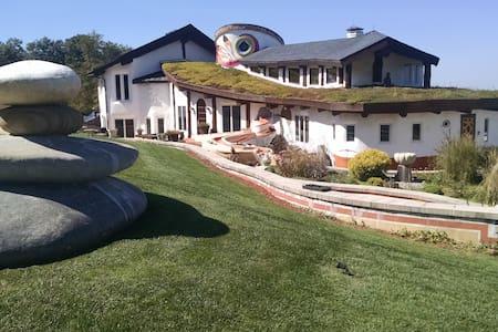 La Casa de David - Round Room - Earth House
