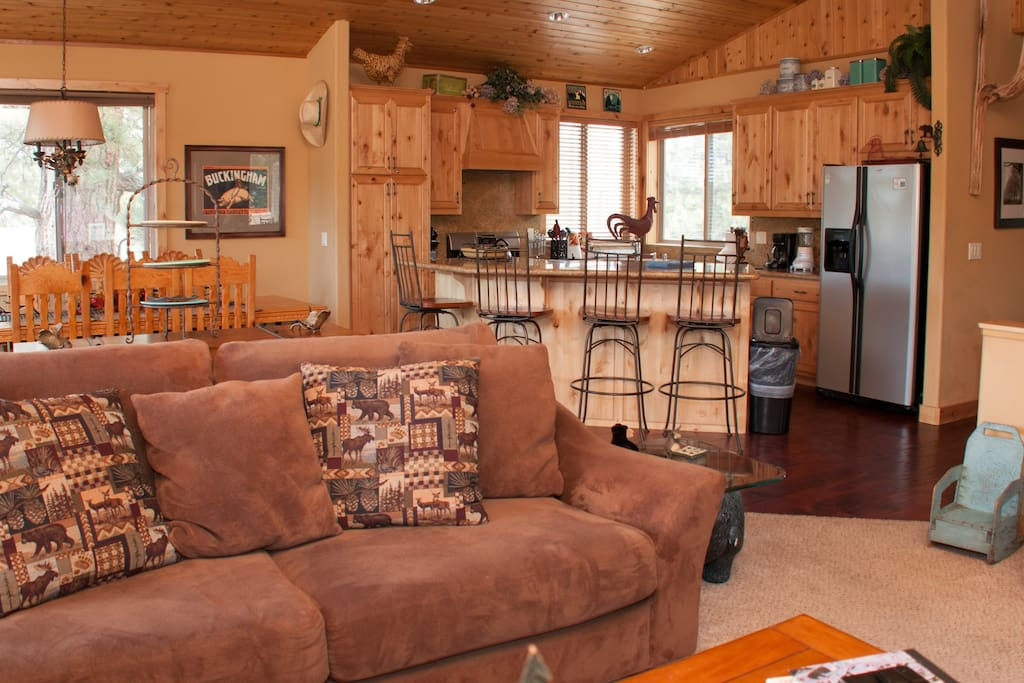 Big bear luxury cabin 180 lake view cabins for rent in for Big bear luxury cabin