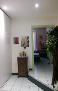 Bedroom with private bathroom - Leilighet