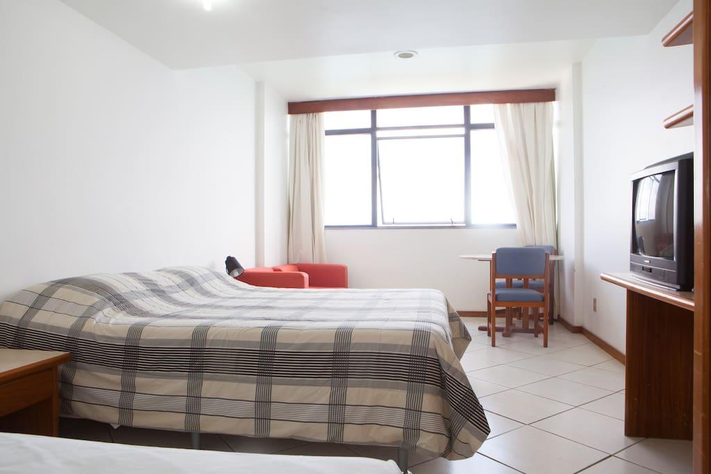Apart Hotel na Vitória - FRENTE MAR