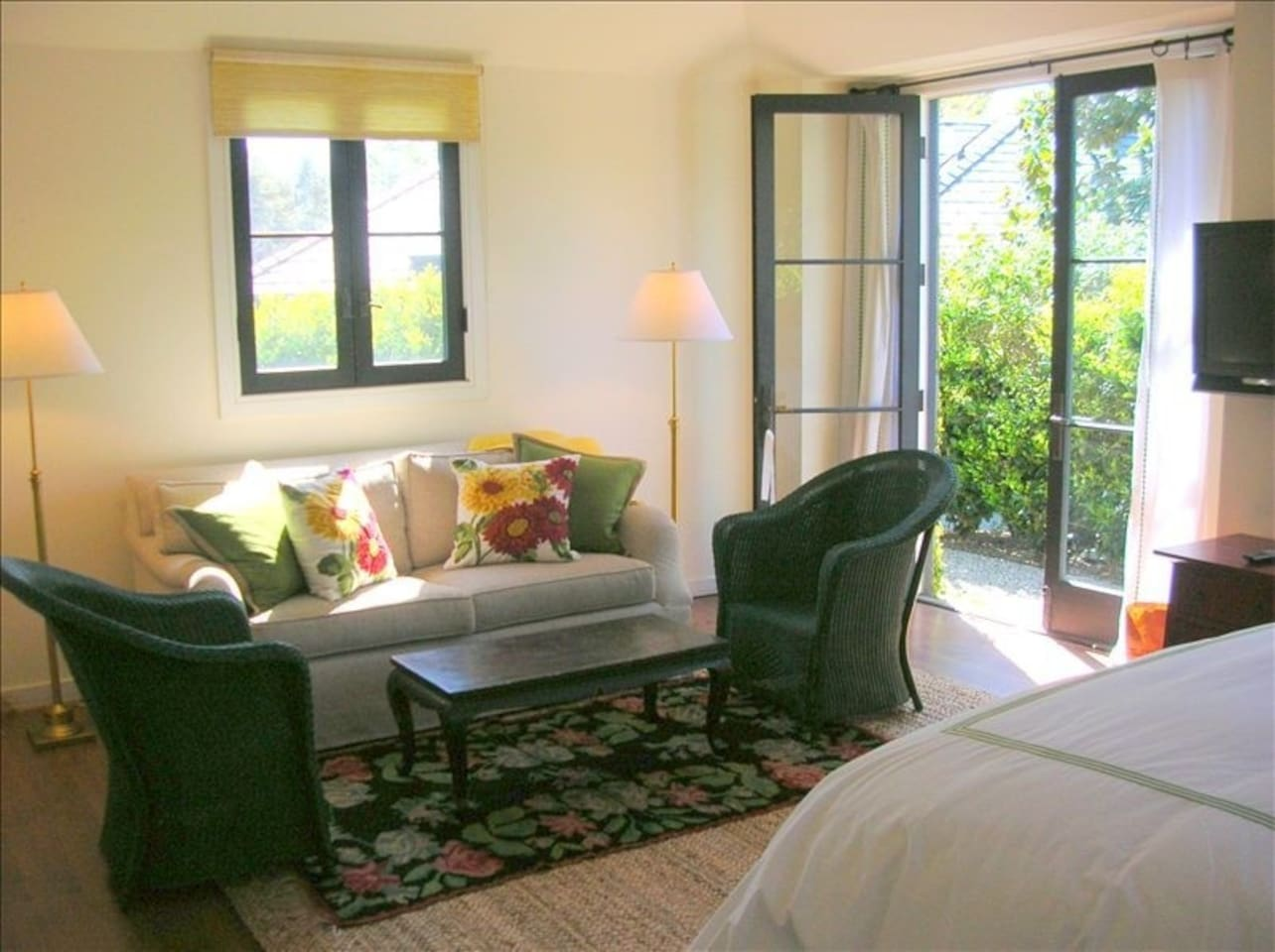 Interior of Guest House. Spacious and airy, perfect for 1 or 2 people.