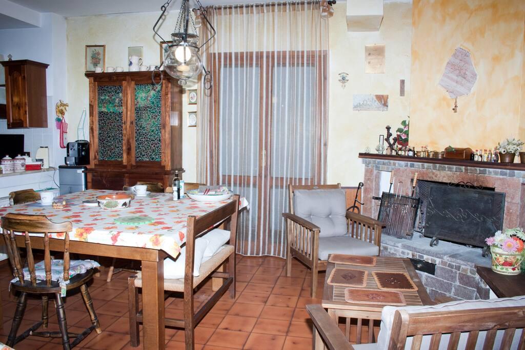 Appartamento in villa vicino Roma