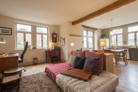 Quirky and Charming Garden Flat - Giggleswick - Rumah