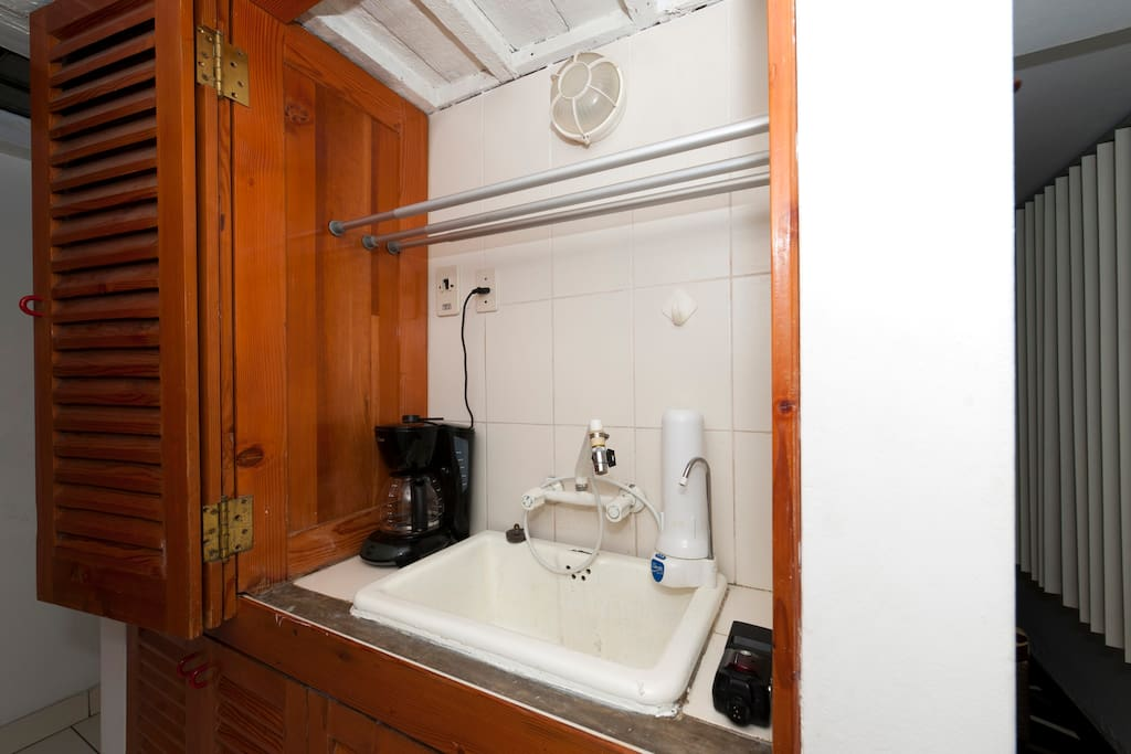 Sink Attached to Kitchenette