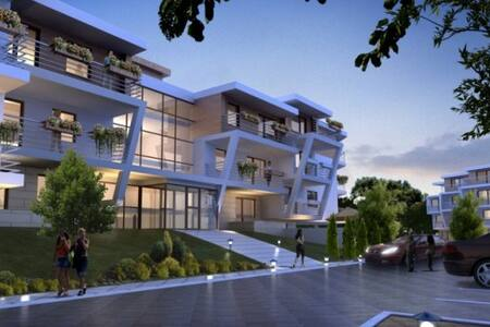 Lux Apt Ramona+ terrace 400m beach - Lejlighed