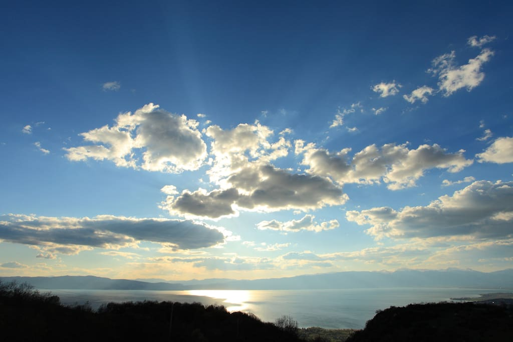 Velestovo magnificent view of Ohrid