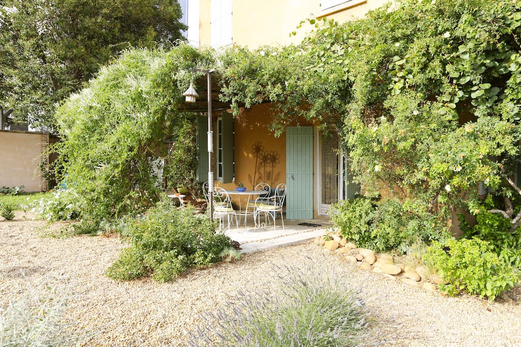 A charming B & B in the vineyards