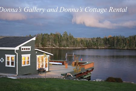 Donna's Cottage Rental on the Ocean - Blockhütte