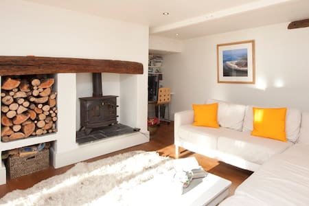Beautiful stone cottage near Totnes - Harberton - House