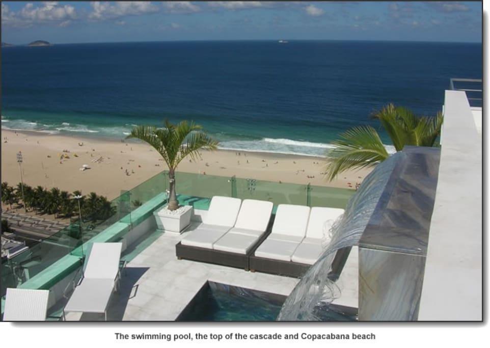 Copacabana Terrace : panoramic view on Copacabana beach www . co(URL HIDDEN)
